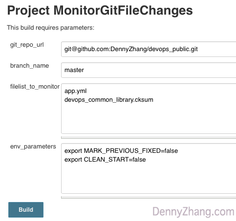 Monitor Git File Changes