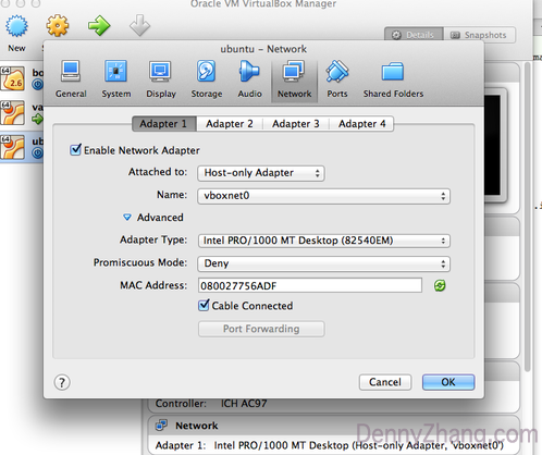Create Local VM With Fixed IP Address