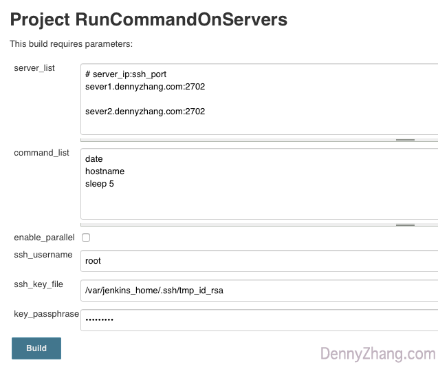 Use Jenkins To Run Remote SSH Commands