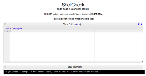ShellCheck Code Check For Shell Scripts